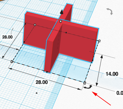 how to make a hole in tinker cad